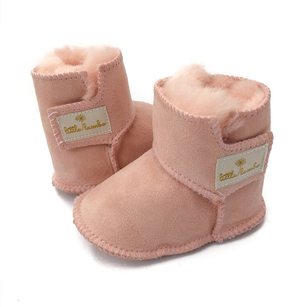 Snuggly Booties - Blush