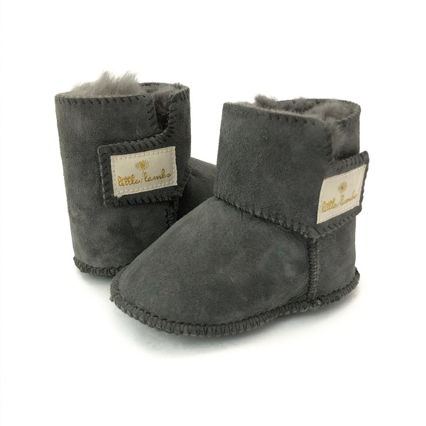 Snuggly Booties - Coal