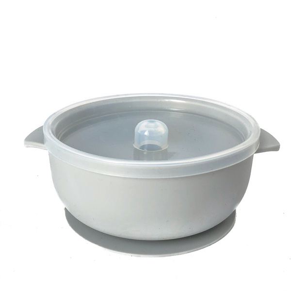 Silicone Bowl - Light Grey