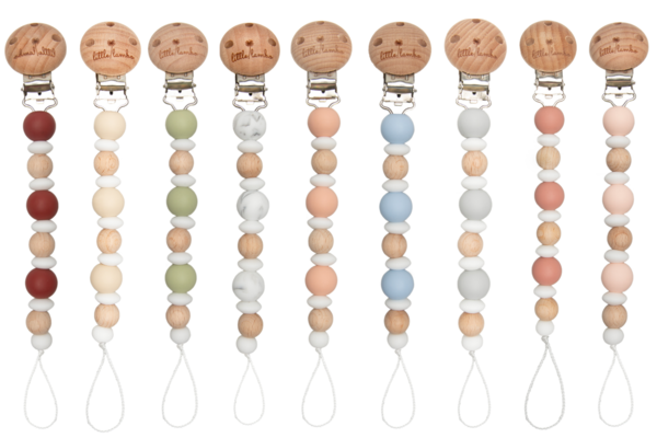 Ivy - Pacifier Clips